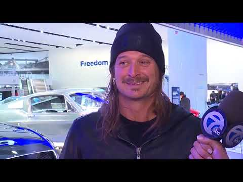 Kid Rock at the North American International Auto Show