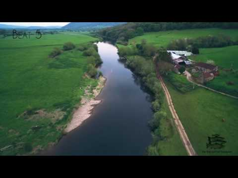 Fishing on the River Wye [] Aerial Tour