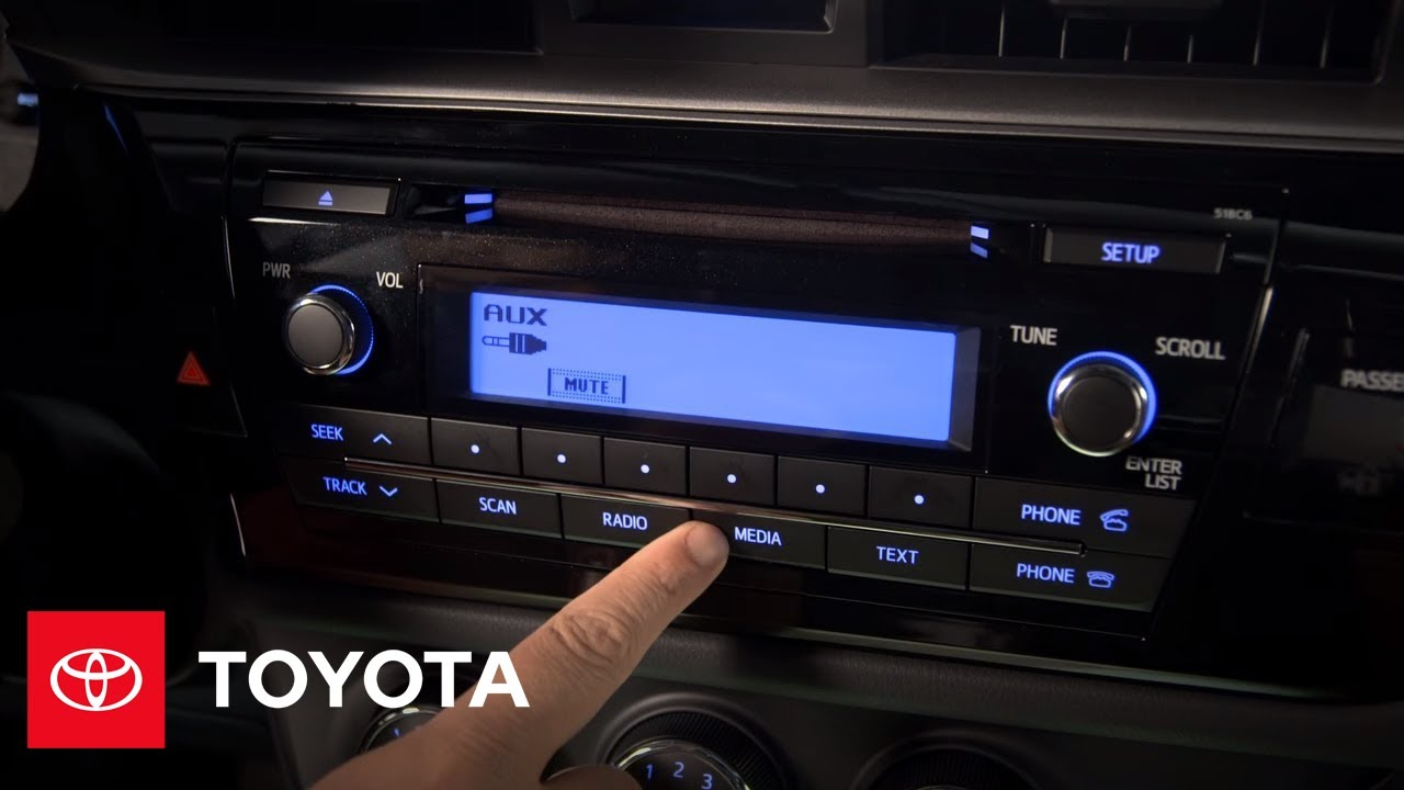 Toyota Corolla Owners Manual: Using the Multimedia system
