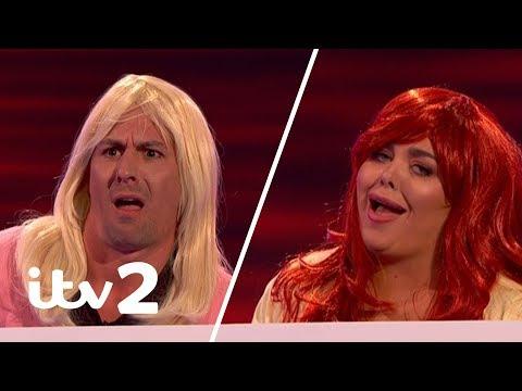 Scarlett Moffatt and Matt Evers Battle It Out in Meme Girls | Iain Stirling's CelebAbility | ITV2