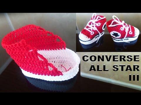 Babyschuhe Turnschuhe Converse All Star Baby Sneakers Für Neugeborenen Häkeln Teil Iii Schaft самые популярные видео