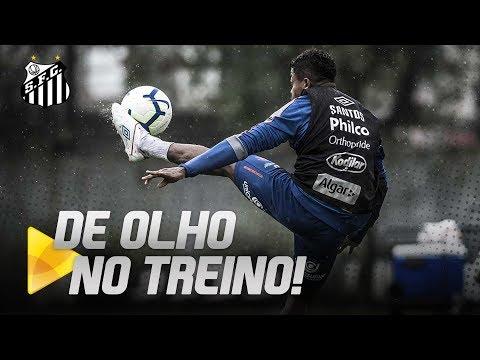 SOB FORTE CHUVA, SANTOS TREINA PARA RETORNO DO BRASILEIRÃO | DE OLHO NO TREINO (04/07/19)