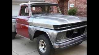 My '66 Chevy Stepside Restoration