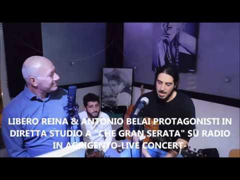"""LIBERO REINA & ANTONY BELAI OSPITI IN STUDIO A """"CHE GRAN SERATA"""" SU RADIO IN AGRIGENTO"""