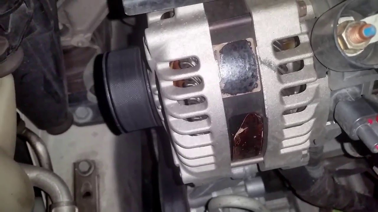 medium resolution of ultima alternator on 2010 chrysler town country failed at 5 months