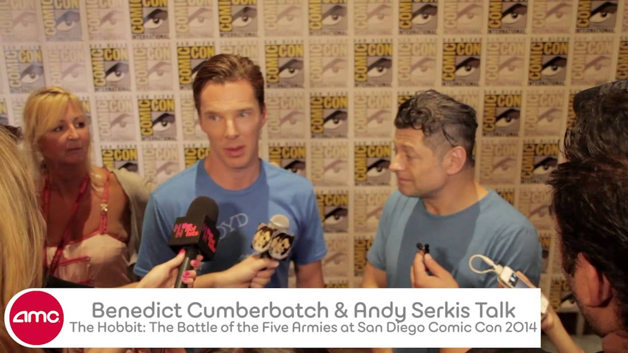 Download Benedict Cumberbatch & Andy Serkis Talk THE HOBBIT With AMC At 3 Comic Con 2014