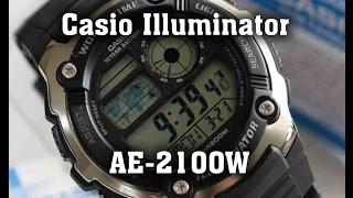 Обзор часов Casio Illuminator AE-2100W