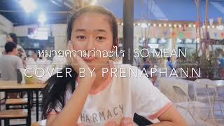 หมายความว่าอะไร | Cover By Prenaphann