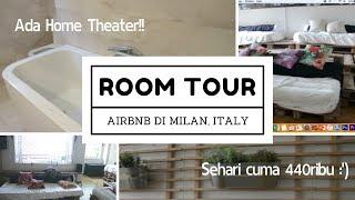 Gambar cover ROOM TOUR airbnb di Milan worth it - #VLOGisel 10