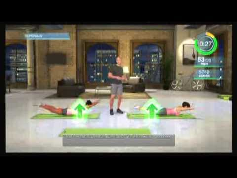 Single Workout Super Hero - Harley Pasternak's Hollywood Workout - Wii Fitness