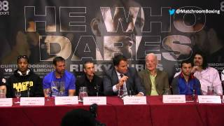 FULL 'He Who Dares' final presser