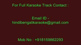 Maa Mujhe Apne Anchal Mein Karaoke Lata Mangeshkar Chhota Bhai 1966