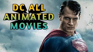 All DC Animated Movies