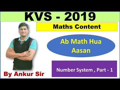 Number System - Part - 1|Maths Content|KVS|UPET|NVS|DSSSB