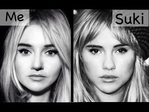 Suki Waterhouse Makeup Transformation