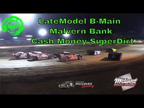 LateModel B-Main - Malvern Bank Cash Money SuperDirt - Lebanon Midway Speedway 10-19-2019