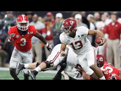 2018 National Championship #4 Alabama Vs #3 Georgia