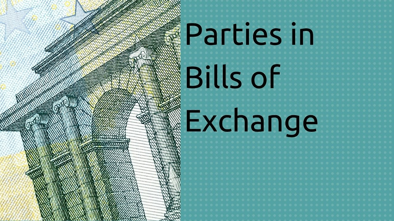 Parties To Bills Of Exchange | Bills Of Exchange Accounting | CA CPT | CS U0026  CMA | Class11 | Class12   YouTube
