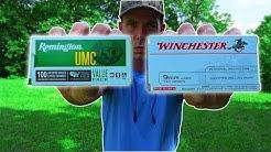 Best CHEAP Hollow Points?   Remington UMC vs Winchester White Box