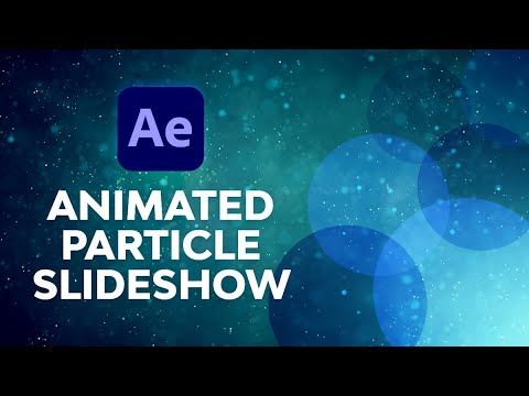 Download Create an Animated Particle Slideshow in After Effects | FREE COURSE
