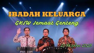 IBADAH KELUARGA | GKJW JEMAAT GENTENG | RABU 21 OKTOBER 2020