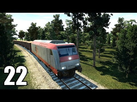 Transport Fever #22 Zug zu lang zum fahren :-D | Let's Play Deutsch | Gameplay German