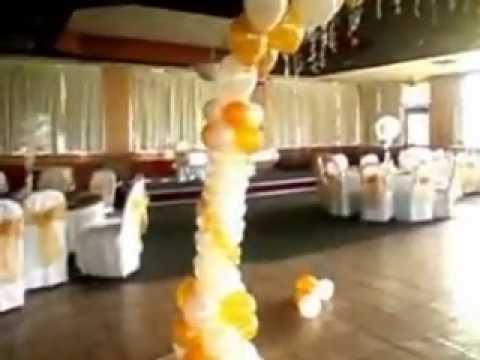 Faos events decoracion color amarillo y negro doovi - Decoraciones en color plata ...