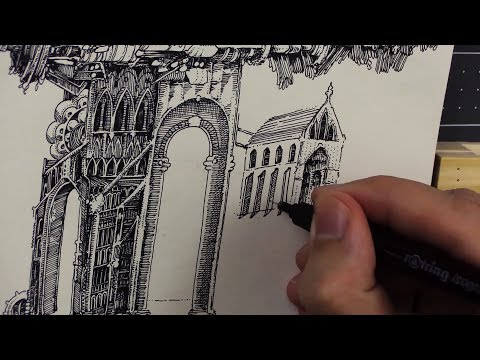 Drawing Abstract Architecture