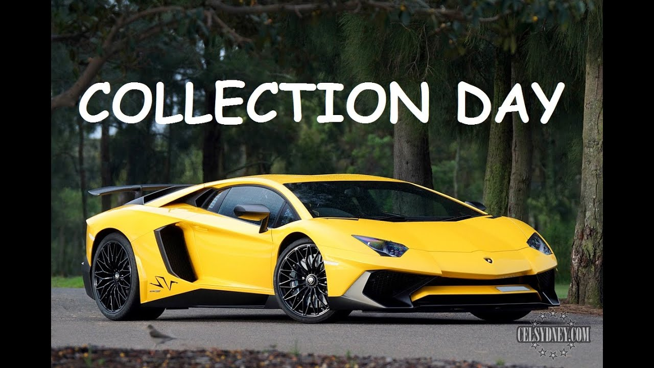 Collecting My Lamborghini Aventador Sv Review Youtube