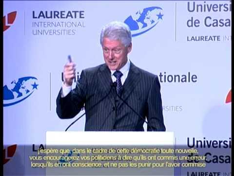 UIC - Conférence du président Bill Clinton à L'UIC