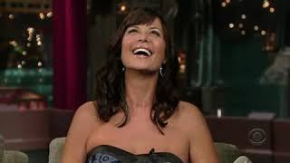 Catherine Bell on David Letterman Show 2007