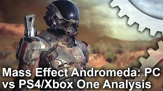Mass Effect Andromeda: PC vs PS4/Xbox One Graphics Comparison + Frame-Rate Test