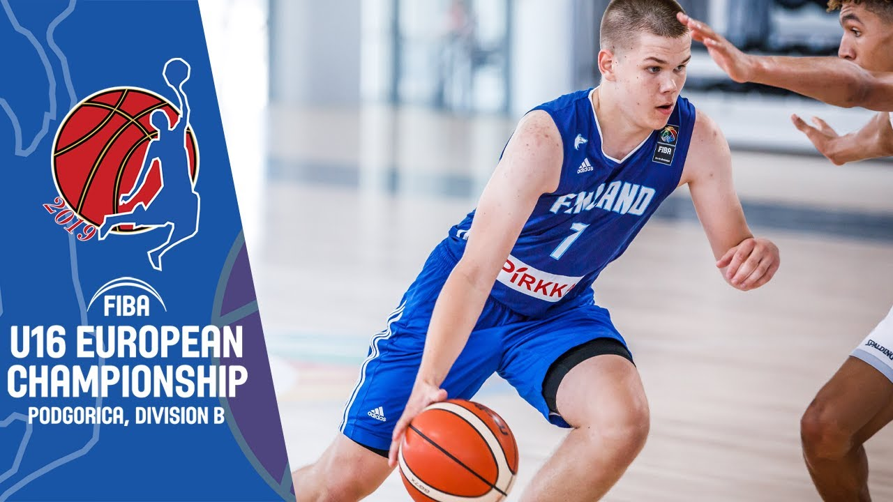 Finland v Slovakia - Full Game - FIBA U16 European Championship Division B 2019