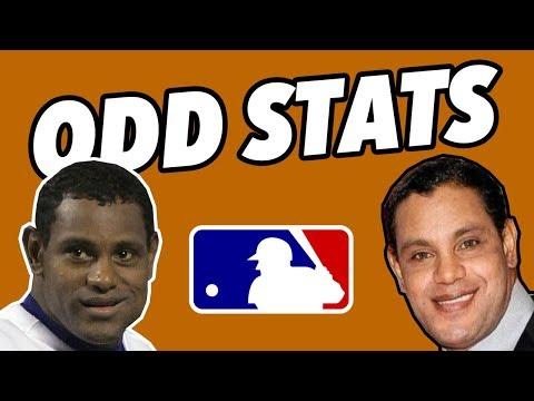 The ODDEST STATLINES in MLB HISTORY - WEIRD BASEBALL STATS