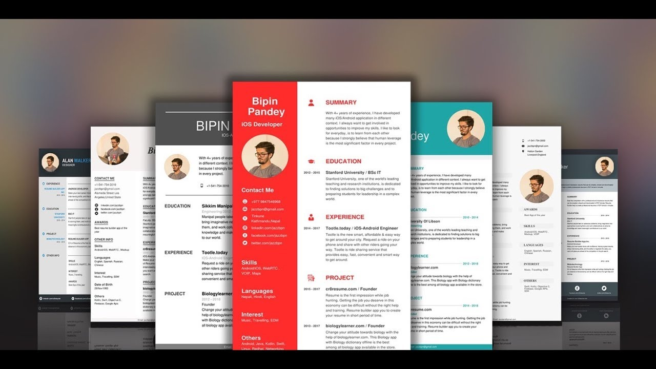 create resume in 2-4 minutes