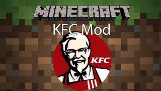 Minecraft Mod รีวิว - Mod ไก่ KFC | KFC Mod [1.12.2]