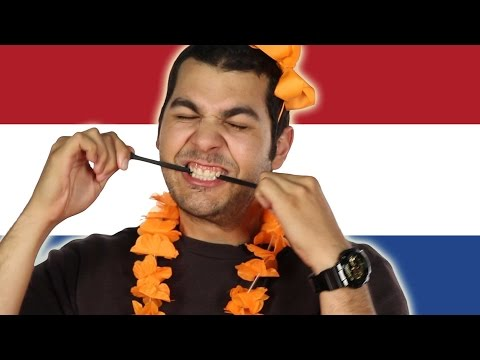 Thumbnail: Americans Try Dutch Sweets