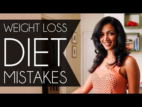 Weight Loss Diet Mistakes - Five Foods That Stops You From Losing Weight.