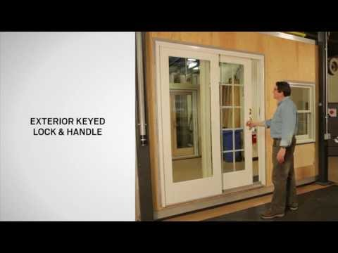 Identifying The Parts Of A Gliding Door | Andersen Windows