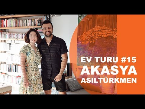 #EVTURU 15 - Akasya Asıltürkmen'in Kalamış'taki 2+1 Evi