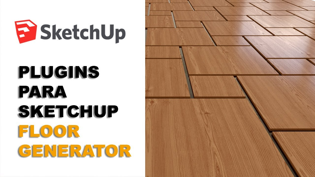 Plugins para Sketchup - Floor Generator - YouTube