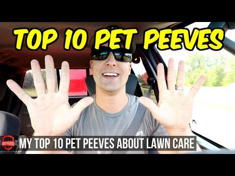 Top 10 Pet Peeves In Lawn Care - 10 Things I Can't Stand In The Lawn Business!!