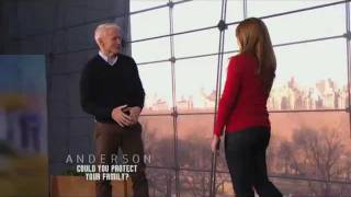 Anderson Cooper Krav Maga lesson