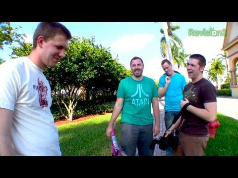 Film Riot! - The 100th episode of Dan 3.0. Just sayin'.  In which Dan goes to Florida to shoot a viewer-written short film with the guys from Film Riot.