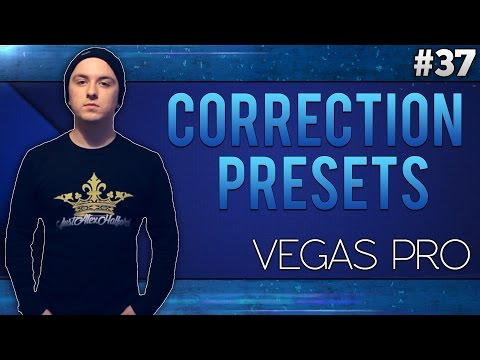 Sony Vegas Pro 13: How To Install Color Correction Presets - Tutorial #37