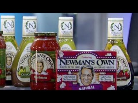 How Paul Newman went from all profits to charity