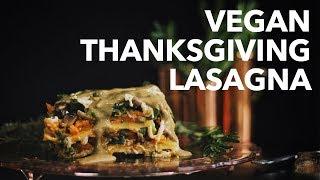 Vegan Thanksgiving Lasagna | Two Market Girls