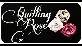[DIY] How to Make Paper Quilling ROSE / Flowers in Home - Tutorial !