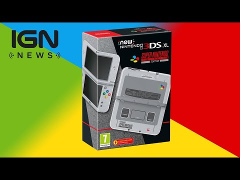 Nintendo Reveals Super Nintendo-Themed New 3DS XL - IGN News