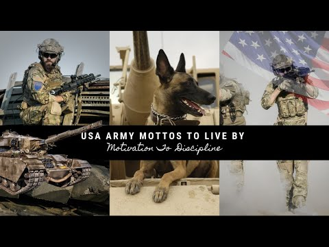 USA Army Mottos To Live By | Motivation, Discipline With Helpful Program To Be Your Best